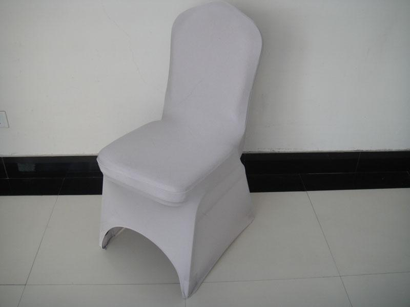 MOQ: silver spandex banquet chair cover with for wedding,party,hotel decoration use