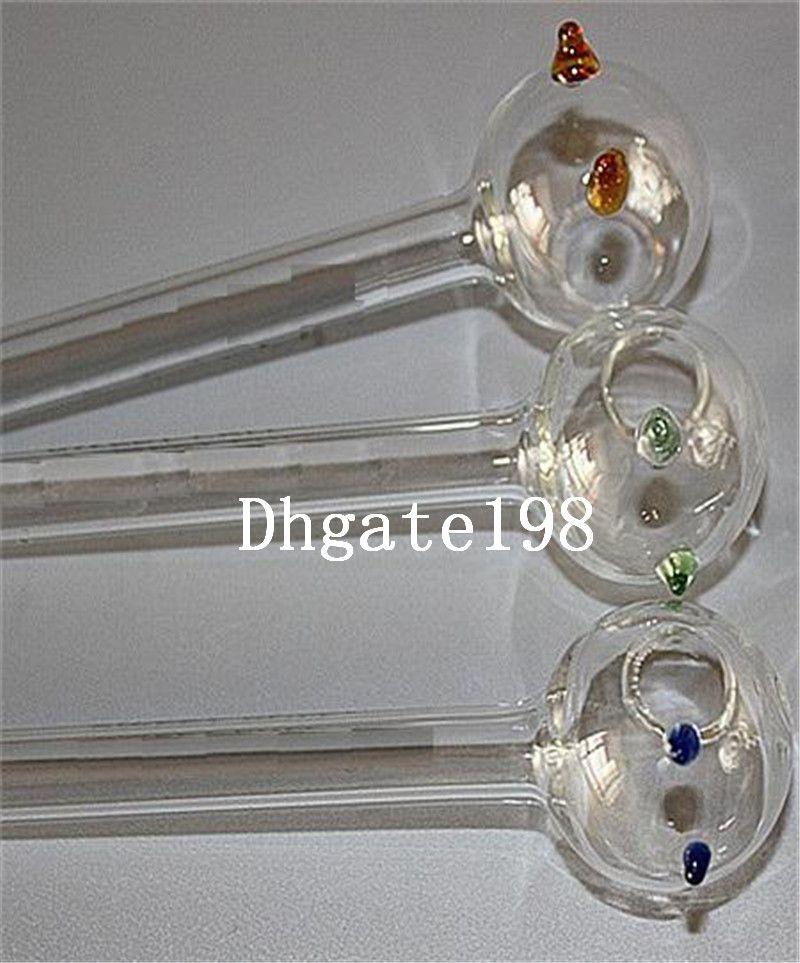 billige kleine 12 cm glas gerade rohre pyrex öl brenner rohr glas dampfwalze rohre shisha bongs glasrohre zum rauchen versandkostenfrei