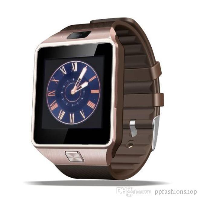 DZ09 montre Smart Watch Dz09 Montres Wrisbrand Android iPhone montre intelligente SIM mobile intelligent Téléphone état de veille SmartWatch Retail Package