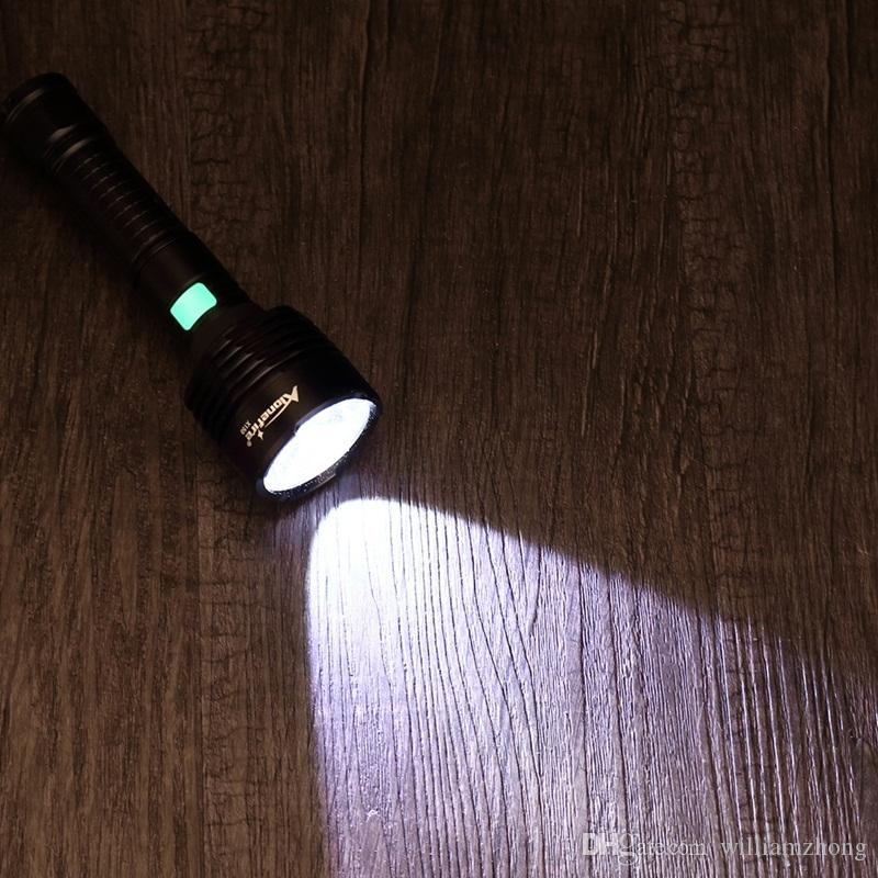Alonefire X150 CREE XM-L2 LED USB led Flashlight Torch light With 18650 Rechargeable Battery