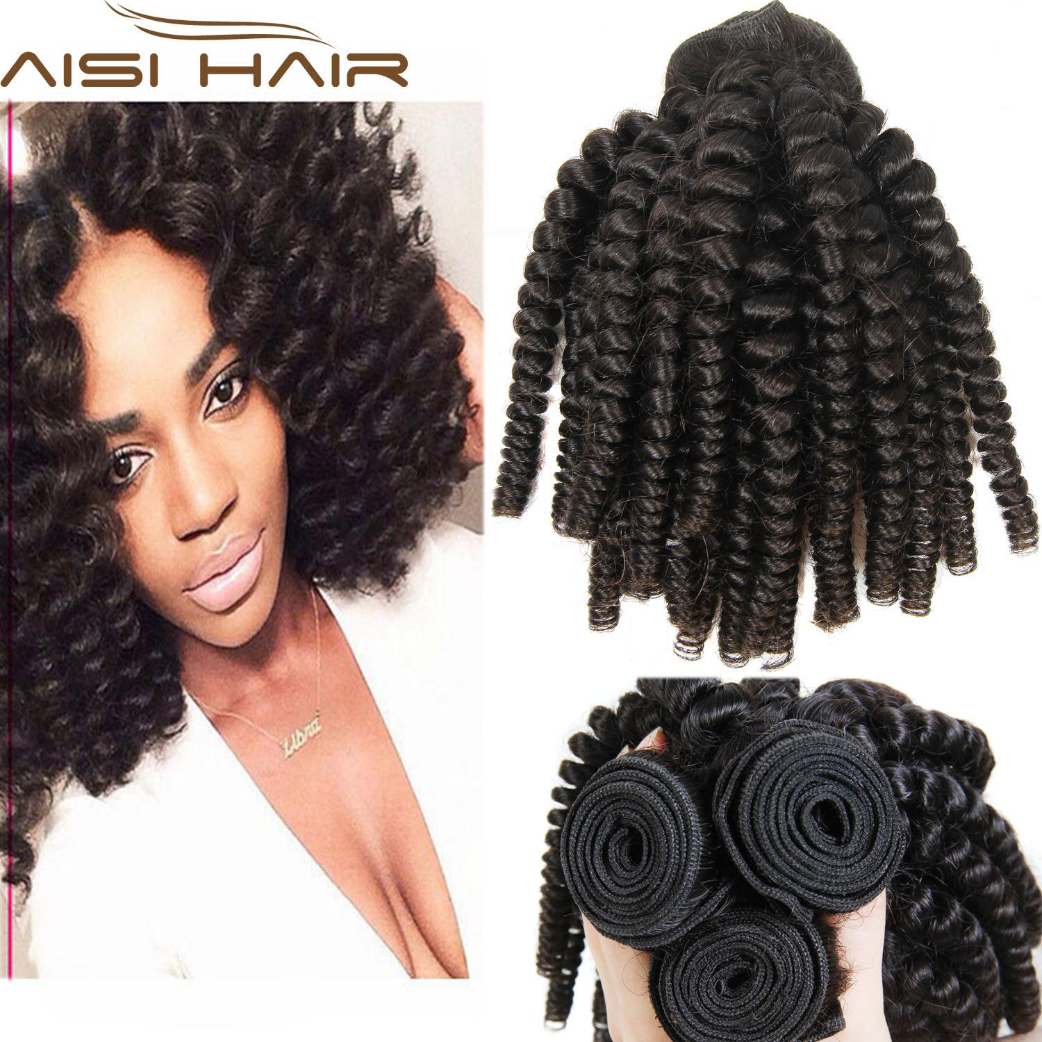 Wholesale virgin funmi hair weave tight curl human hair brazilian see larger image pmusecretfo Image collections
