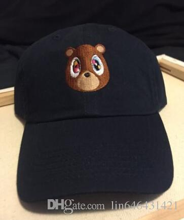 Kanye West Graduation College Dropout Bear Dad Hat Cap Never Not Weird  Baseball Cap Hip Hop Summer Snapback Hat Wholesale Hats Caps Online From  Lin646431421 ... e61c137d999