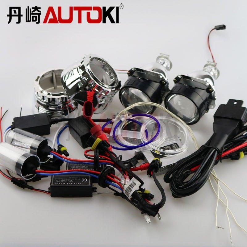 2017 2.5 H1 Mini Bi Xenon Projector Lens,Ccfl Angel Eye, Hid Bulb Hid Ballast Wire Harness For H4 H7 Headlamp From Lilyautoki, $90.53 | Dhgate.Com