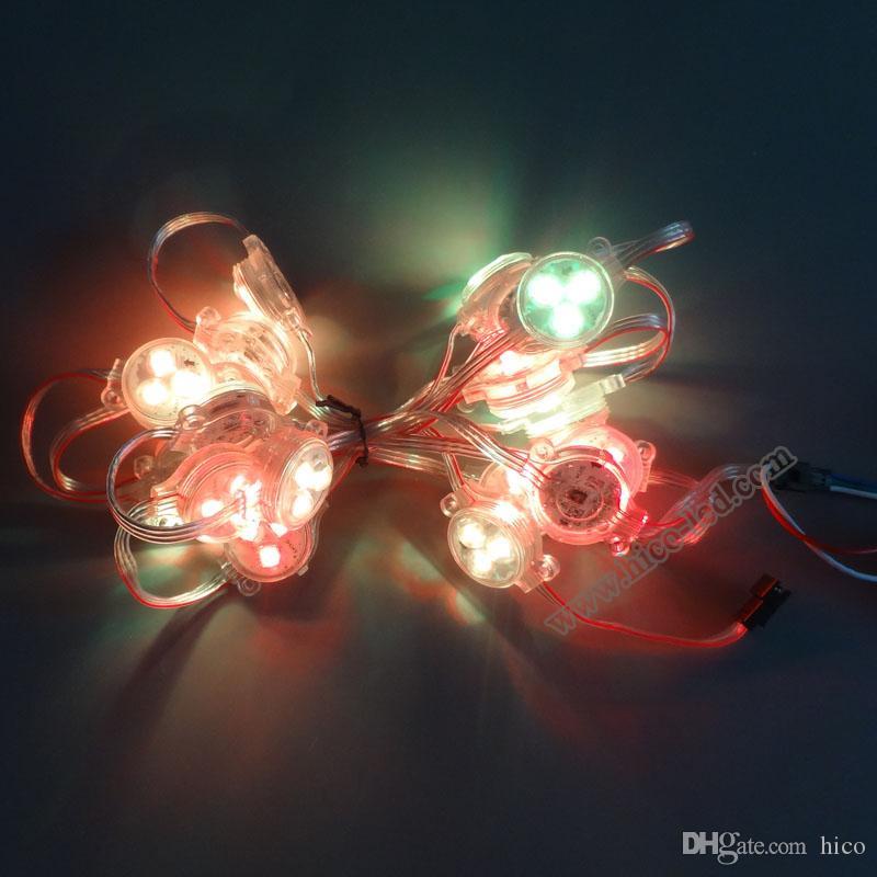 크리스마스 조명 30mm Led Point Lights 픽셀 빛 주도 야외 조명에 대 한 문자열 빛 크리스마스 파티 방수 무료 배송