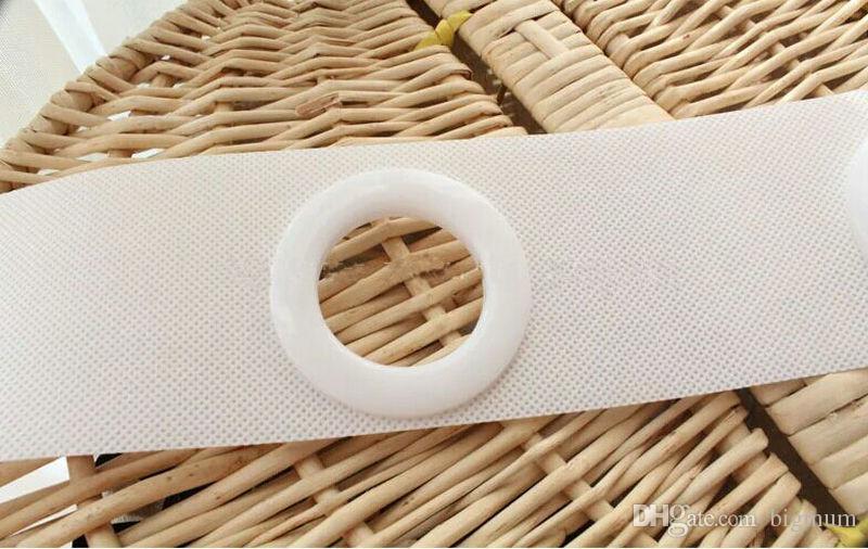 accessori tenda poliestere 10 centimetri imbottito tessuto tenda nastro della cintura stoffa tende occhielli anelli occhielli 10meters
