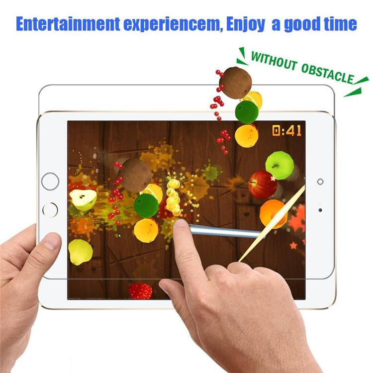 ipad 공기를위한 명확한 LCD 애완 동물 스크린 보호자 필름 감시 2 3 4 소형 2 3 4 직업적인 9.7 10.5 보호 필름