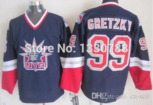 wholesale dealer 2cd3a 7fea4 99 wayne gretzky jersey rangers