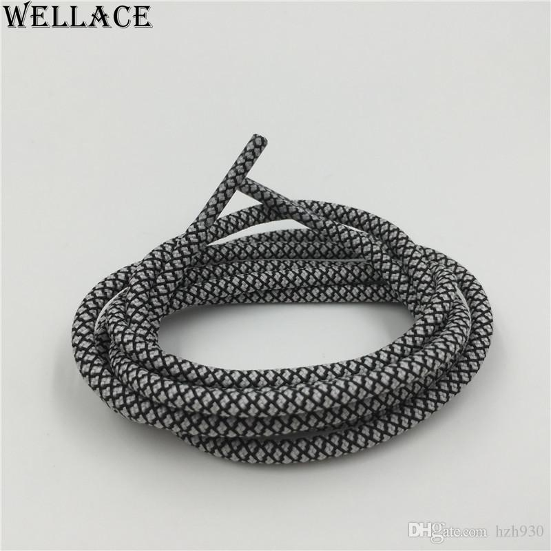 Wellace Fashion Luminous Glow In The Dark Shoelace Flat Athletic Shoe Laces party Gift Night Bootlaces Strings