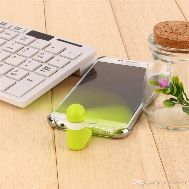 مصغرة USB مروحة مرنة سوبر البكم المحمولة تبريد تبريد للنوع C الروبوت سامسونج S7 حافة الهاتف مروحة صغيرة مع حزمة