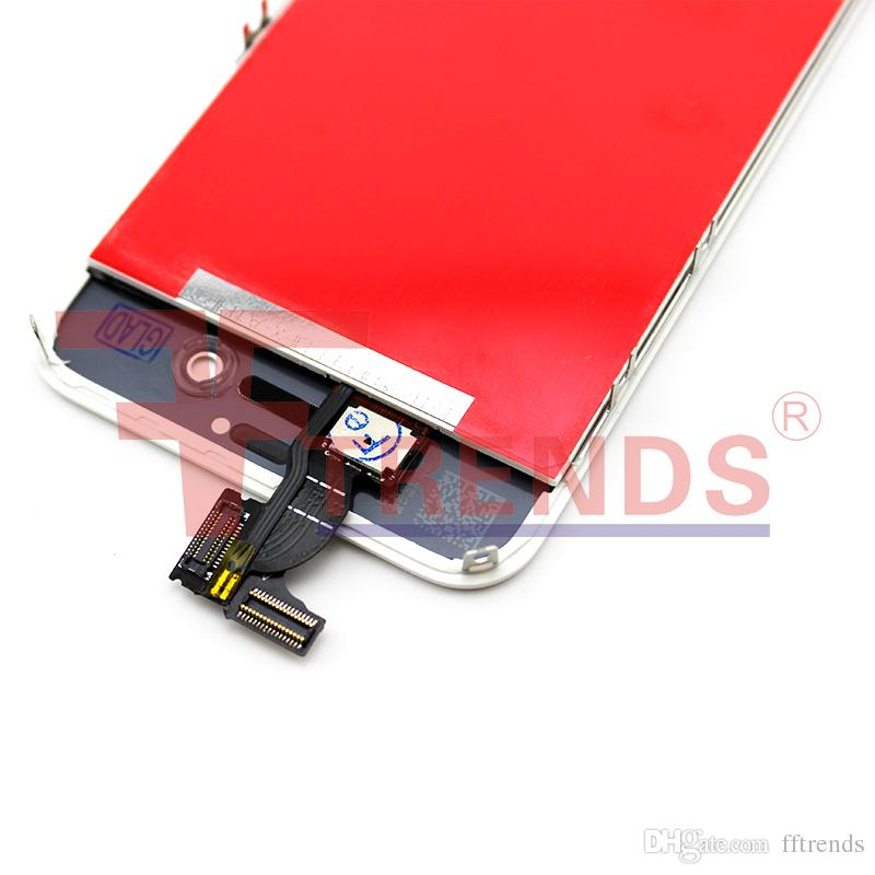 for iPhone 4/4 CDMA/4S LCD Display & Touch Screen Digitizer Full Assembly OEM Black White LCD Screen 100% Test