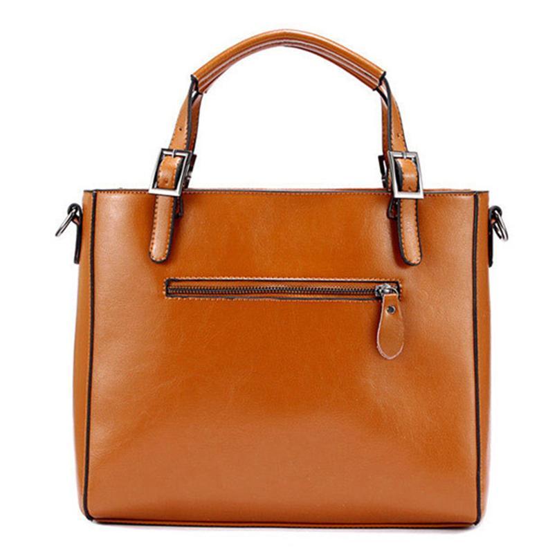61a3eb118 Fashion Patchwork Designer Split Leather Bags Women Handbag Brand ...