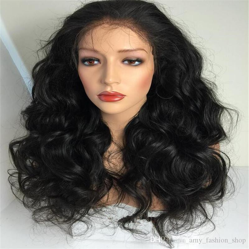 """Full Lace Human Hair Wigs For Black Women Body Wave Lace Front Wigs 8-24"""" Glueless Full Lace Wig Front Lace Wigs"""