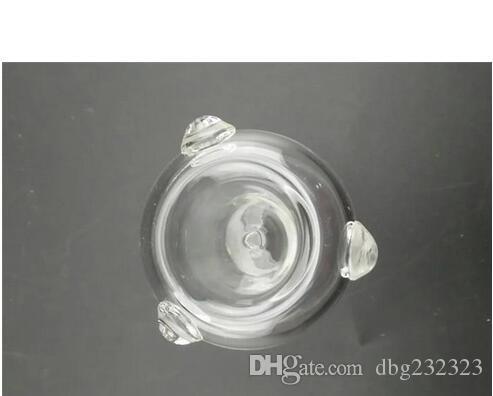 무료 배송 --- 2016 Glass Bubbler Hammer 흡연 파이프 유리 물 봉 6 Arm 침착제 핸드 파이프 18.8mm 합동 사이즈 Buy One One