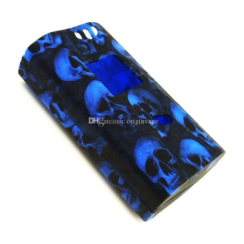 Skull Silicone Case Rubber Sleeve Protective Cover Skin For Box Mod Starter Kit Vape DHL