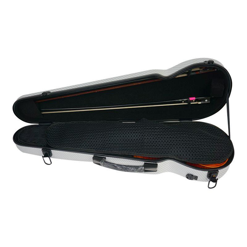 4/4 violin case new composite carbon fiber violin case