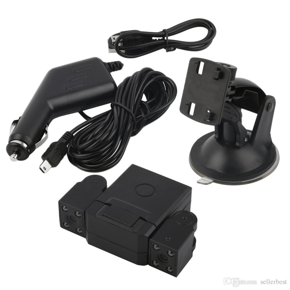 Lens Camcorder H3000 Car DVR Dual Camera HD 1080P Dash Cam Black Box With Rear 2 Cam Vehicle View Dashboard Cameras Transformers