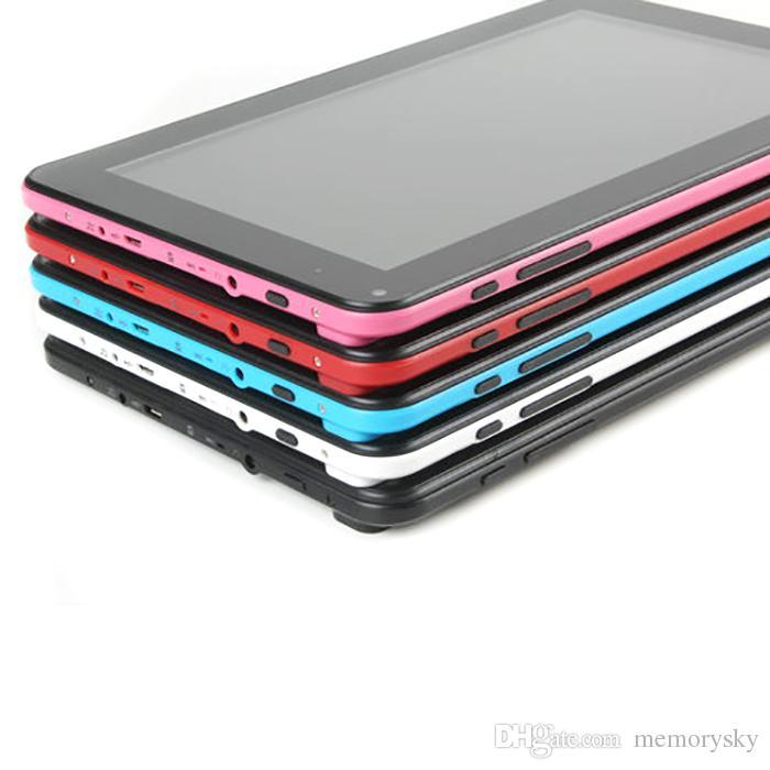2016 Toptan G901 9 inç Tablet PC Android Tablet PC 8 GB A33 Dört Çekirdekli 5112 MB RAM 8 GB ROM 7