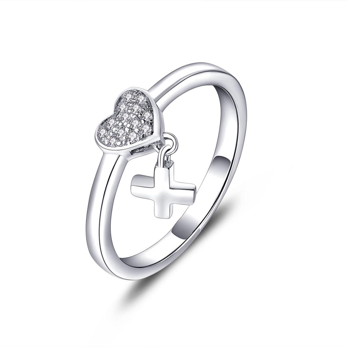 2016 925 Sterling Silver Heart ring for Women Wedding with Cubic Zirconia  Stone Lover Infinity Gift Cross New Fine Jewelry Wholsale DL61810A UK 2019  From ... 7d3fff9808