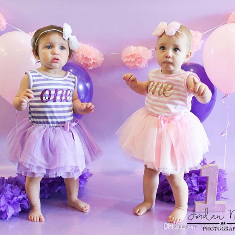 2019 1 2 3 Years Old Girl Birthday Gift Princess Dresses Summer Baby Girls Clothes Lace Tulle Mini Dresses Letter Print Dress Stripe Pattern From Yb1234567 ...  sc 1 st  DHgate.com : 2 year old girl birthday gift - medton.org