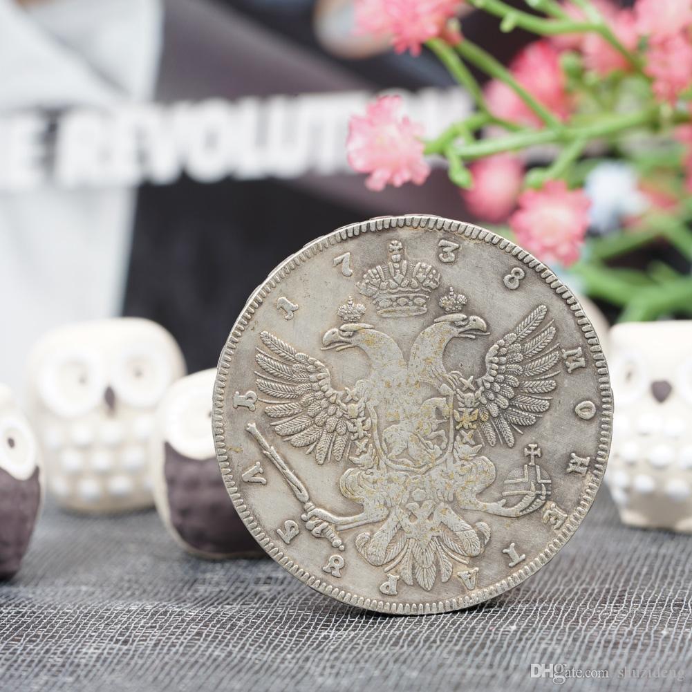 1738 Russia Double-head Eagle Coin Copy Commemorative Coins Russia  Double-head Coins Online with  8.18 Piece on Shuzideng s Store  c7bb04ed9e52