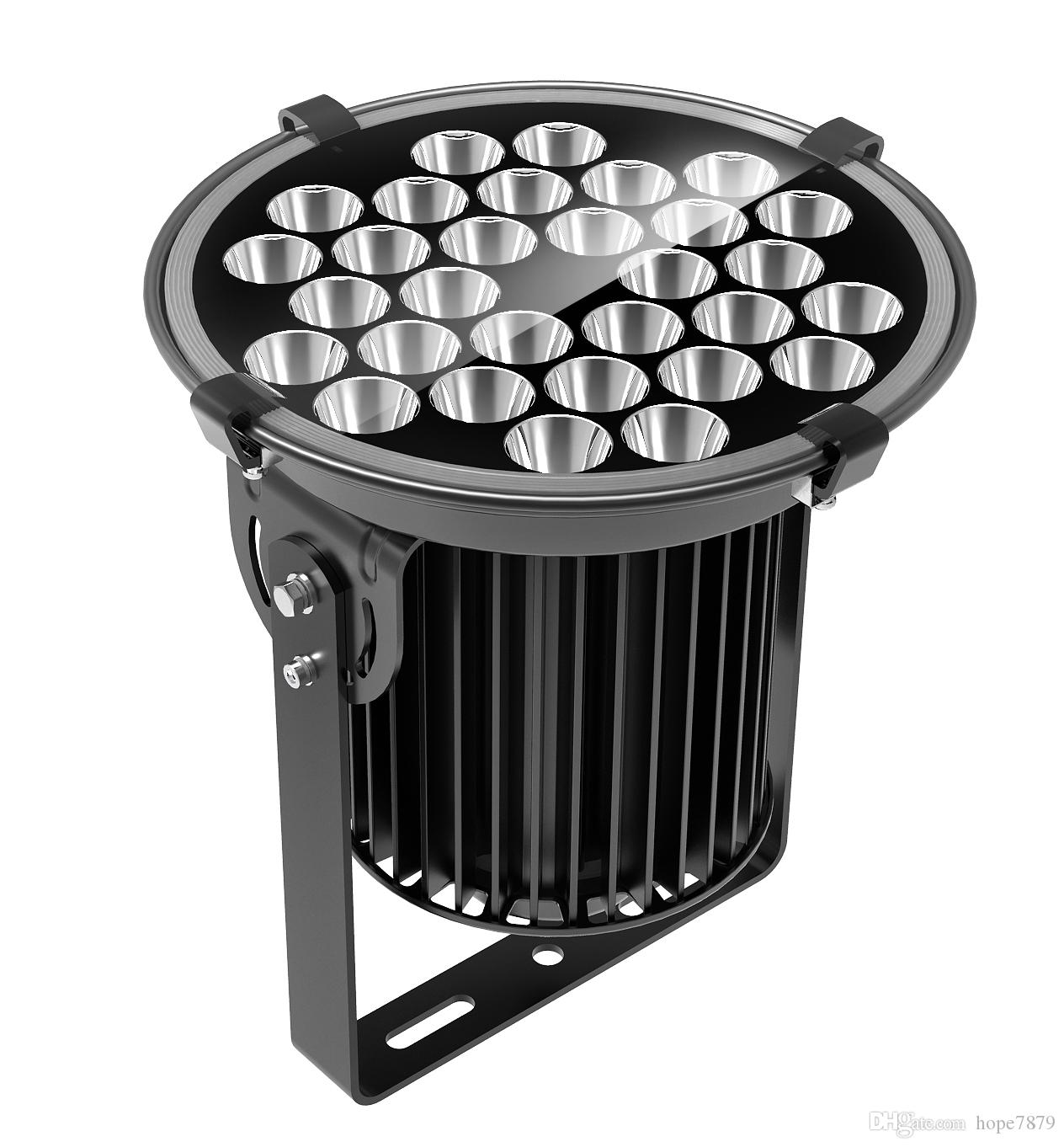 150w explosion-proof court golf high pole pier lighting led floodlights outdoor/indoor projection light with 3D heat dissipation FIN housing