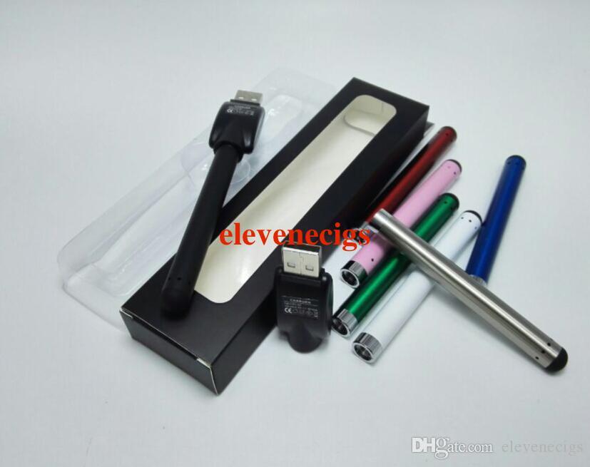 O-pen CE3 vape bud touch battery con cargador USB Blister Pack 280mAh 510 thread e cigarettes para cera vaporizador cartucho de aceite