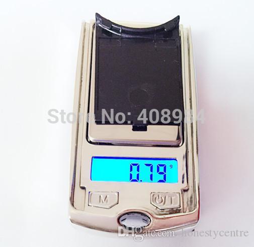 Venda quente Mini menor 100g 0.01g Portátil Chave Do Carro Balança Eletrônica Digital Pesando Escala Para jóias com diamantes