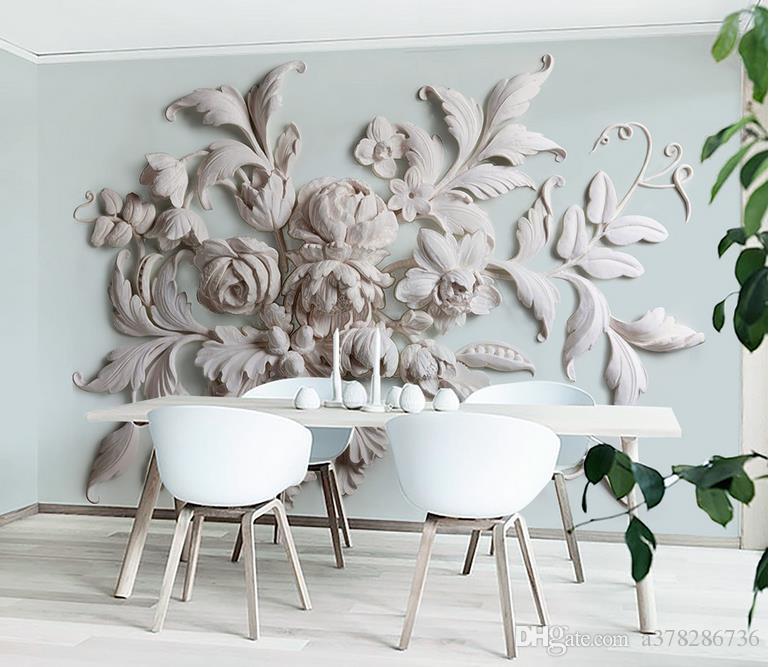 Compre Papel Pintado De La Foto 3d Personalizado Murales De Pared - Papel-pintado-para-pared