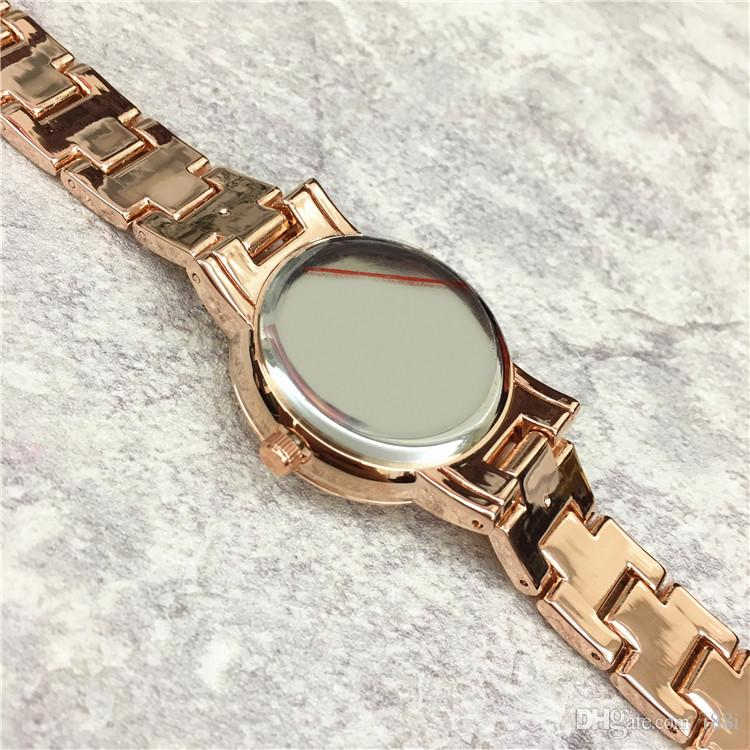 Fashion Hot sale Lady Wristwatch Shell Face Luxury Women watch high quality Gift for girls Rose Gold lady clock drop shipping Japan movement