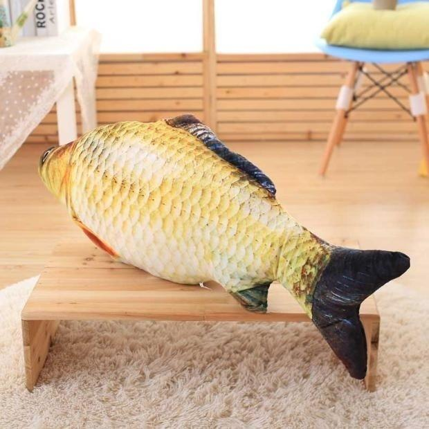 Моделирование Карп Плюшевые Игрушки Укомплектованный Мягкие Животные Рыбы Плюшевые Творческий Диван Подушка Подарок Детские Игрушки Рождественские Подарки Размер: 20 см