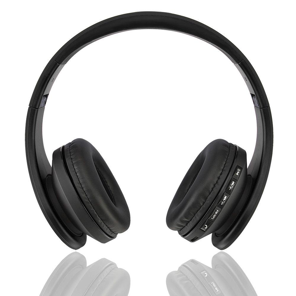 Bluetooth Headphones Over Ear, Hi Fi Stereo Wireless Headset ...