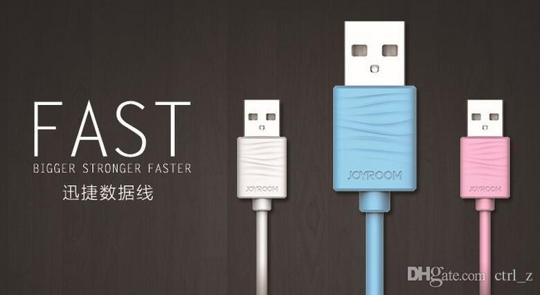 2016 High Quality remax Joyroom Cable 1M Fast Sync Charging Data Line for samsung android Wholesales with retail package