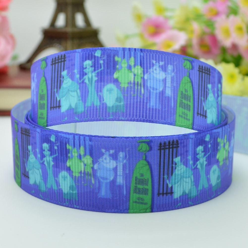 2018 7/8 22mm Nightmare Before Christmas Printed Grosgrain Ribbon ...