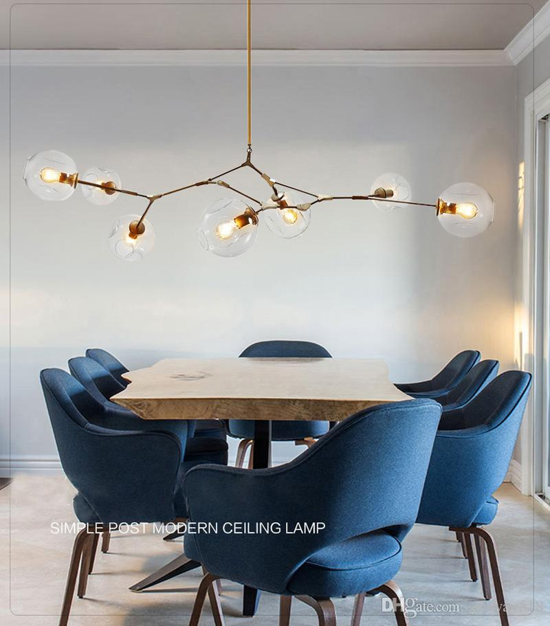 2016 Lindsey Adelman Chandeliers lighting modern lamp novelty pendant lamp natural tree branch suspension Christmas light hotel dinning room