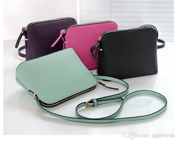 Diseñador de la marca Mujeres Crossbody Shoulder Bag Crossbody Shell Bags Monederos Messenger Bag es
