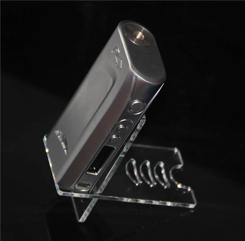 Akrilik Tutucu Ecig Ekran Standları Vitrin Kutusu Mod Kılıfları Vape Kitleri Raf Rafları Ego Tek Aio IPV 5 ISTICK 100 W E-sigara Aksesua ...