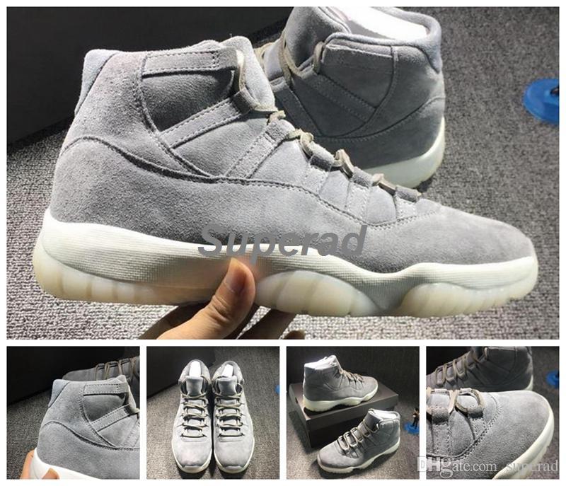 Retro 11 Suede Grey 90d07d4b8