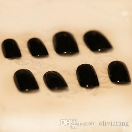 Brand FakeNails Bling Bling Shing 3d false nails 3x24 Tips Full Cover Bride Nails With Peal Decoration nails art Beauty home-use nail