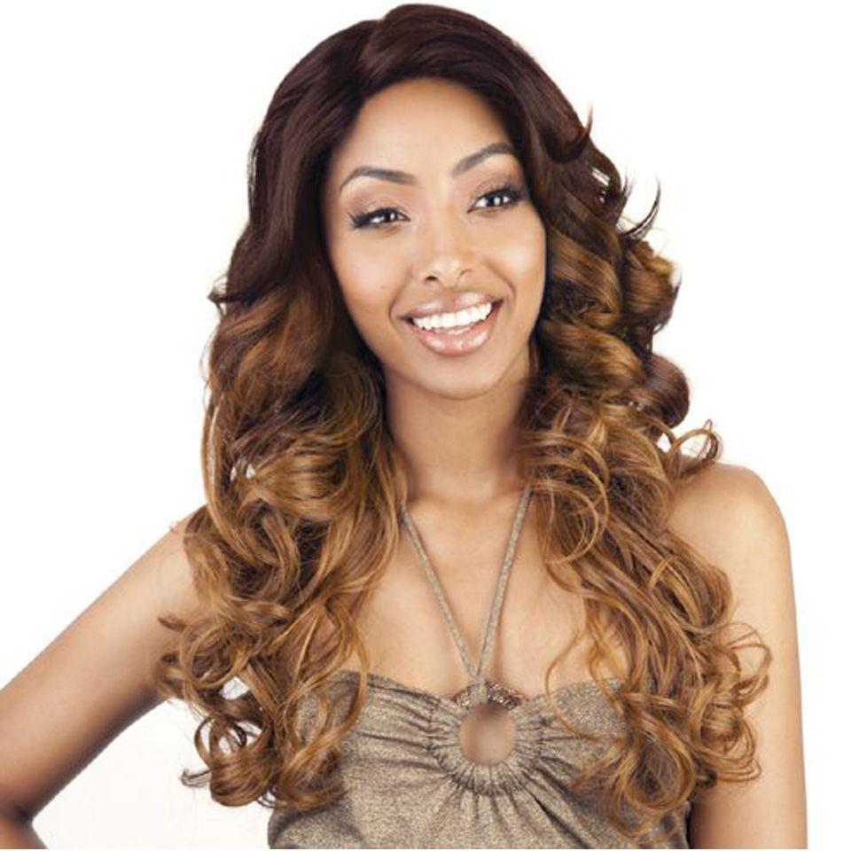 Ombre Body Wave Hair Wigs 1B/4/27 Three Tone Virgin Human Hair Wigs for Women