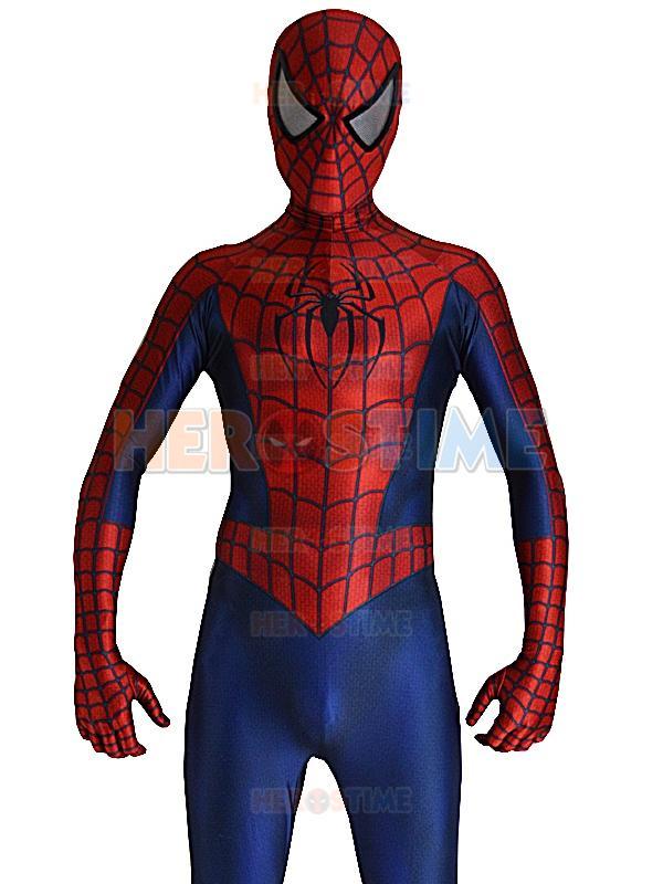 2016 Raimi Spiderman Costume 3d Printed Spandex Halloween