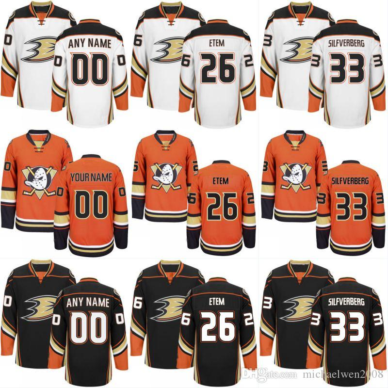 Mens Womens Youth Anaheim Ducks Jersey 10 Corey Perry 48 Logan Shaw 21 Chris Wagner 23 Francois Beauchemin Custom Hockey Jerseys Cheap
