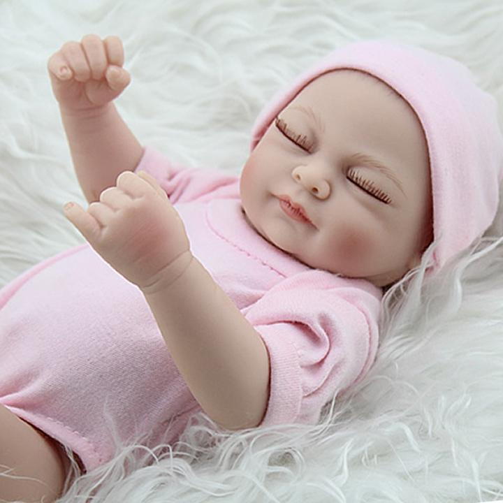 Hot Sell New Deign Reborn Baby Doll Fronzen Princess Girl's Great Present Soft Silicone Vinyl Doll
