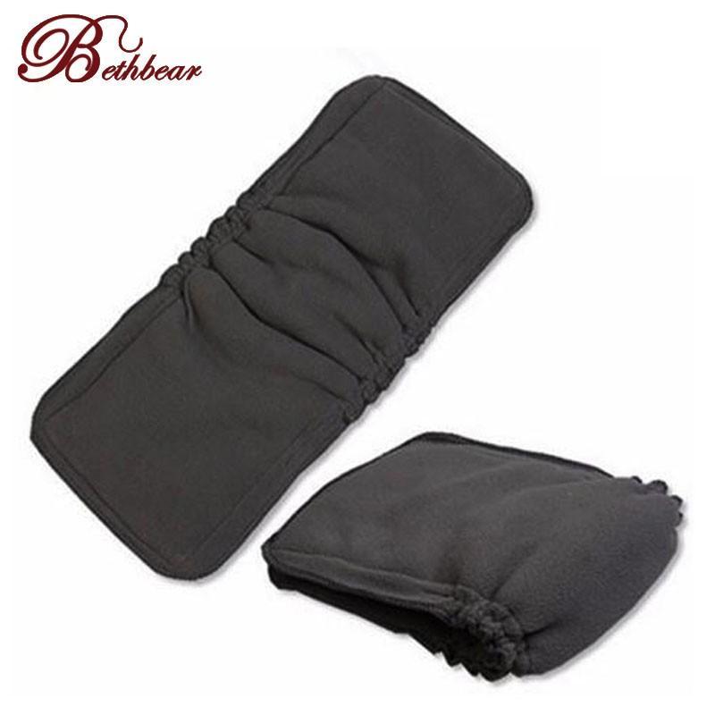 5 Les couches charbon de bambou de couches en tissu de coton Inserts matelas à langer Couche pour bébé Couches matelas à langer couche réutilisable