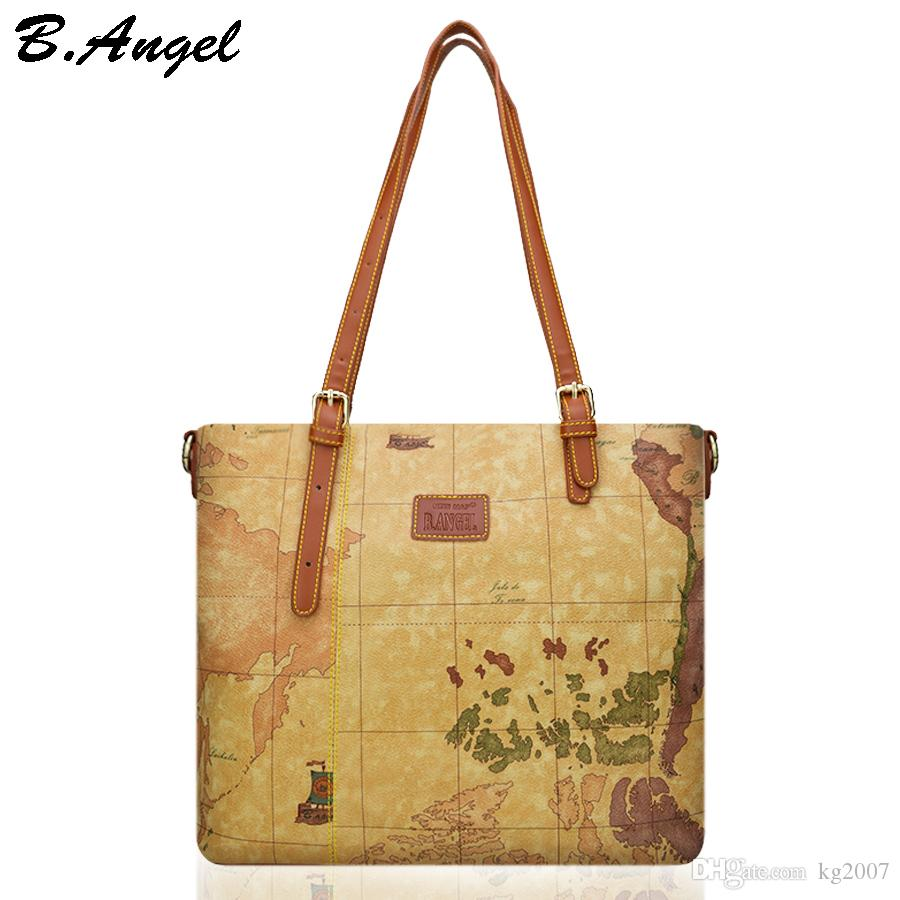 High quality world map women bag fashion women messenger bags high quality world map women bag fashion women messenger bags special handbag high capacity school bags brand design tote bag purses for women bags for sale gumiabroncs Images