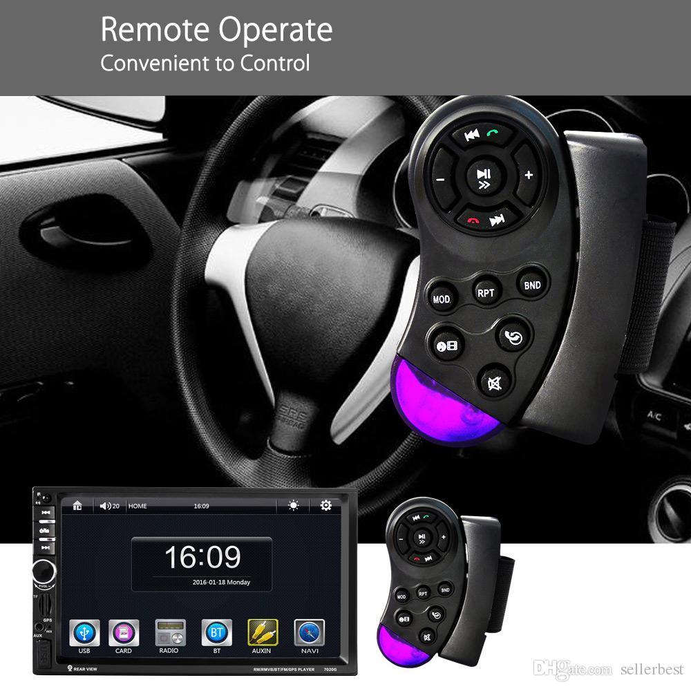 7020G 자동차 MP5 플레이어와 Rearview 카메라 블루투스 FM GPS를 7