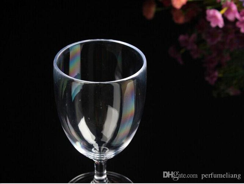 Disposable Champagne Glass Transparent Wine Cups Juice Hard Plastic Environmental Non-toxic 150ml Clear Thickened ZA4903