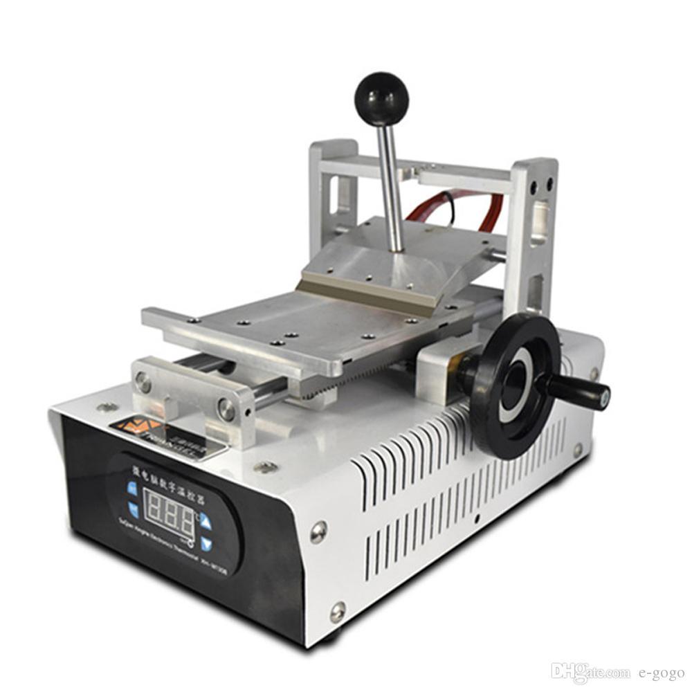 110V / 220 V OCA GLUE Rimuovere la macchina Polarizer Remover il telefono cellulare Riparazione dello schermo LCD Rimontaggio con Stampi