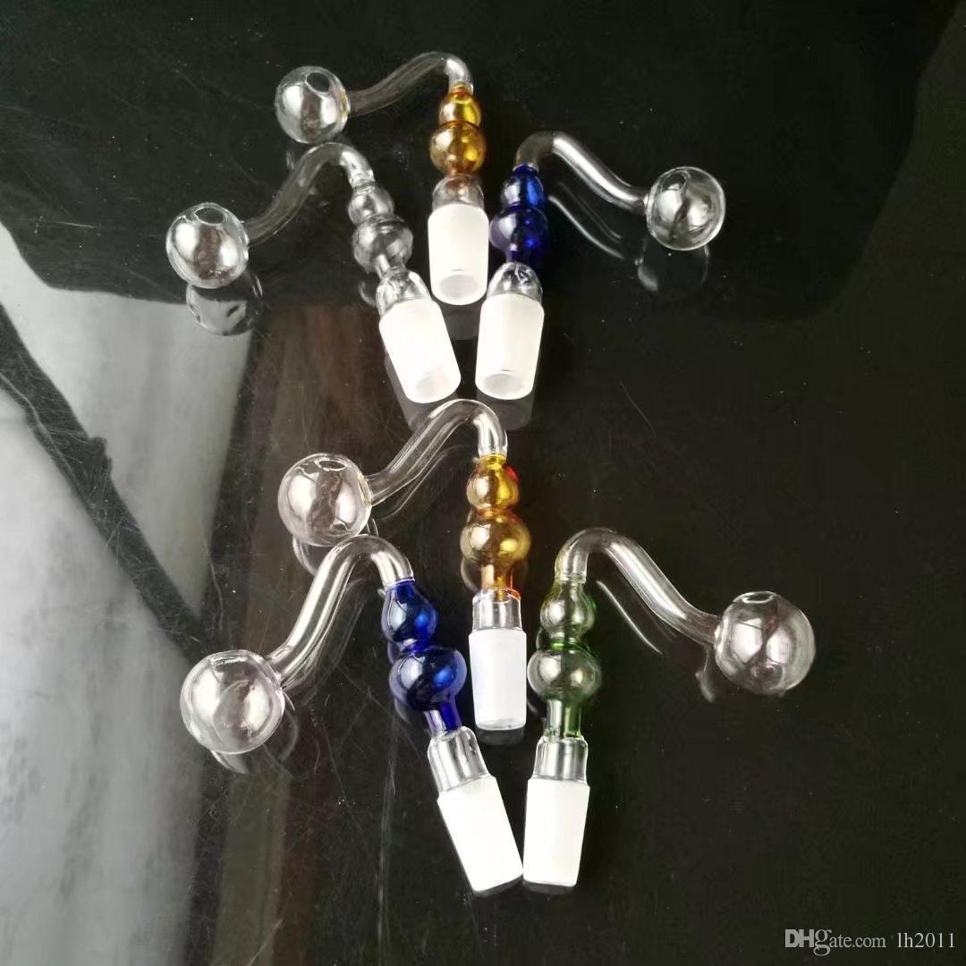 S gourd pot , Wholesale Glass bongs Oil Burner Glass Pipes Water Pipes Glass Pipe Oil Rigs Smoking Free Shoping