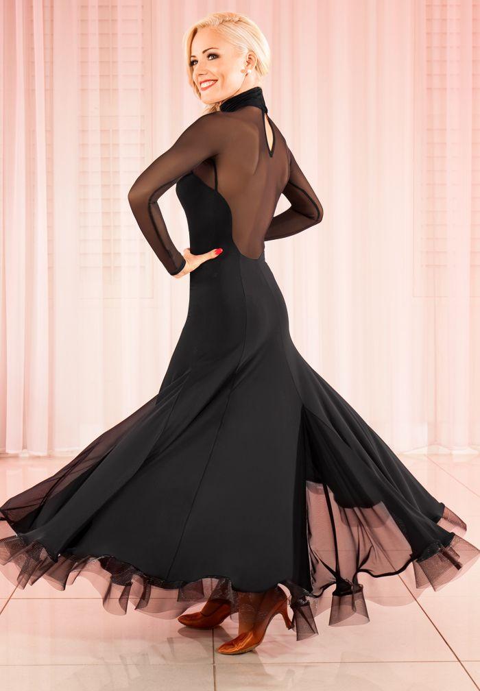 8a45ef626 Free shipping hand made women's ballroom dance dress Tango Foxtrot  QuickStep Waltz Vienna W16011 Custom-made plus size