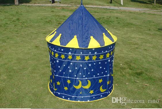 어린이 놀이 텐트 아기 집 파티 텐트 어린이 야외 텐트 왕자와 공주 궁 성곽 게임 하우스